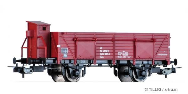 TILLIG 76722. Offener Güterwagen Elmo der GySEV