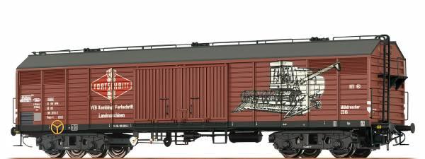 """BRAWA 47269 - Gedeckter Güterwagen, Bauart Gags-v """"Fortschritt"""" der DR"""
