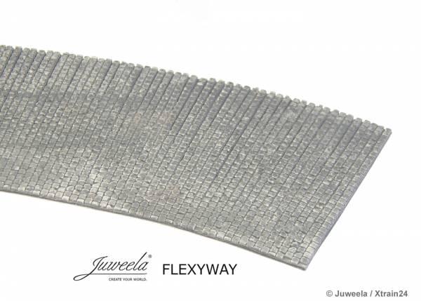 Juweela 28265 - FLEXYWAY Altstadt-Kopfsteinpflaster gebogen