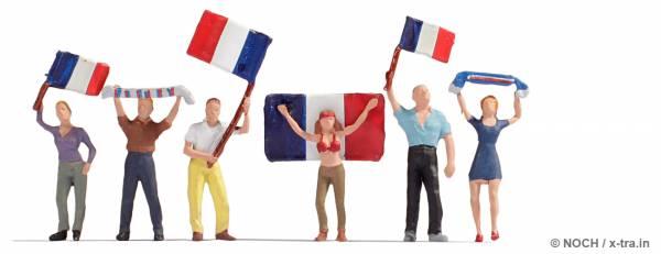 NOCH 15974. Französische Fans