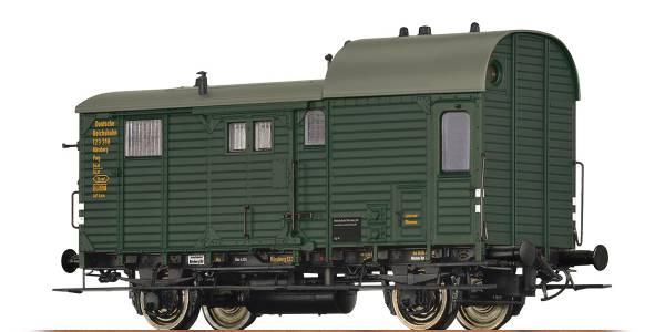 BRAWA 49410 - Güterzuggepäckwagen Bauart Pwg pr 14 der DRG