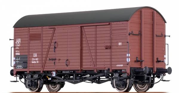 BRAWA 47958 - Gedeckter Güterwagen Bauart Gmhhs 30 der DB