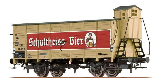 """BRAWA 67474 - Bierwagen Bauart G10 """"Schultheiss (Berlin)"""" der DB"""