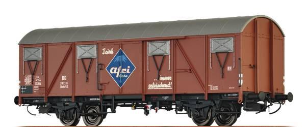 """BRAWA 67808 - Gedeckter Güterwagen Bauart Glmhs50 """"Afri Cola"""" der DB"""