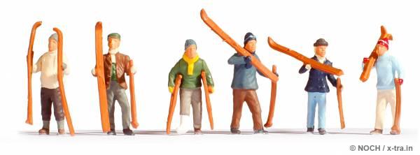 NOCH 15829. Skifahrer