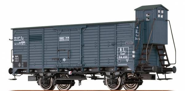 BRAWA 49094 - Gedeckter Güterwagen Bauart Kuwf der A.L.