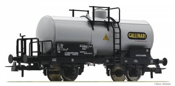 """Roco 76303 - 2-achsiger Kesselwagen Gattung Uh """"GALLINARI"""" der FS"""