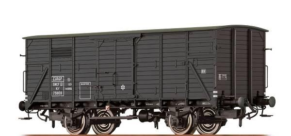 BRAWA 49726 - Gedeckter Güterwagen Bauart Kf2 der SNCF