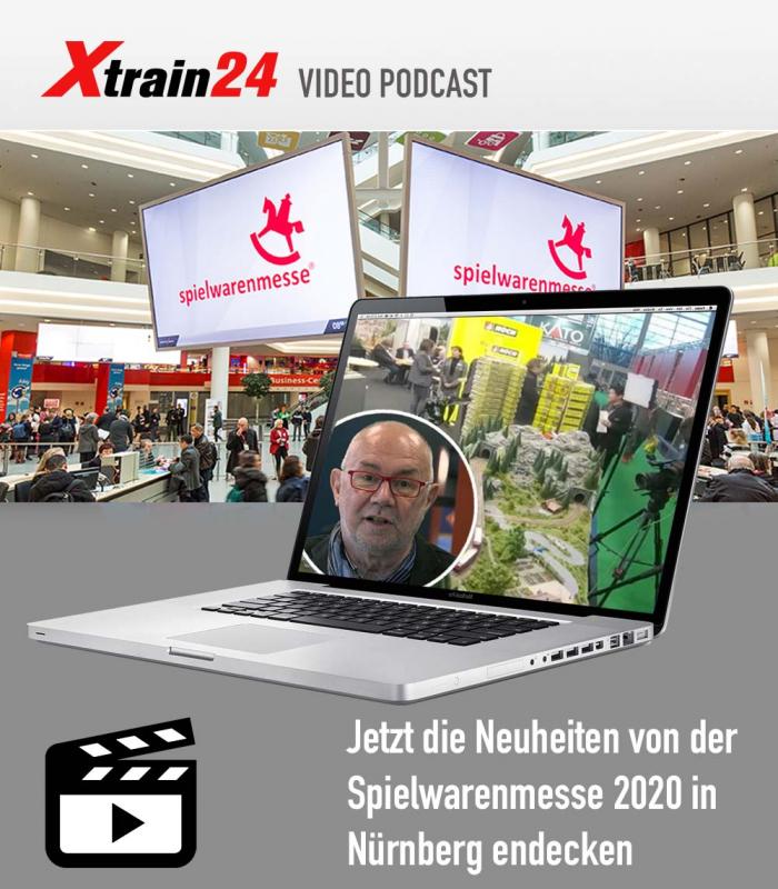 Videos - Neuheiten Modelleisenbahn - Spielwarenmesse Nürnberg 2020