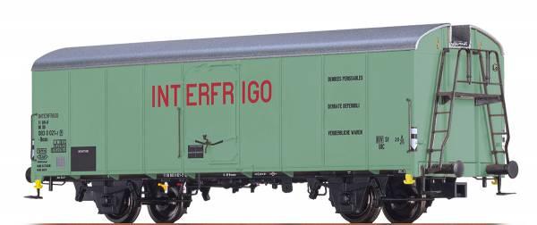 """BRAWA 48338 - Kühlwagen UIC Standard 1, Bauart Ibces """"Interfrigo"""" der DB"""