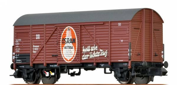 """BRAWA 67316 - Gedeckter Güterwagen Bauart Gms """"Osram"""" der DRG"""