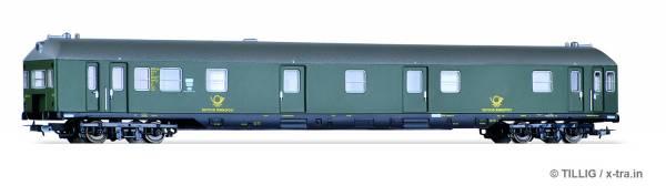 Bahnpostwagen Post 4 mf mit Steuerabteil. TILLIG 74862
