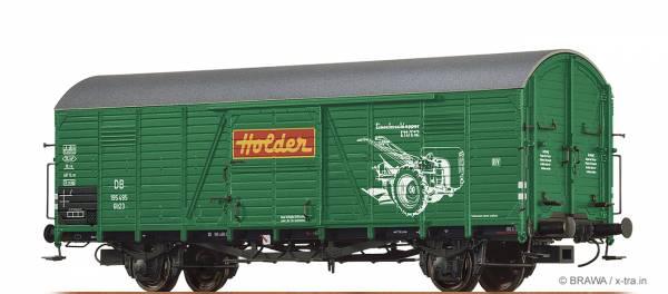 """BRAWA 48734 - Gedeckter Güterwagen Bauart Gltr 23 """"Holder"""" der DB"""