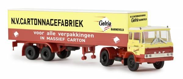 """BREKINA 85266 - DAF FT 2600 Koffer-SZ """"van Reenen/Gelria"""" (NL)"""