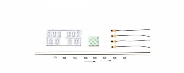 Roco - Universal-Beleuchtungssatz für zwei- und dreiachsige Waggons