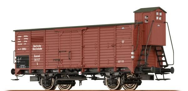 BRAWA 47918 - Gedeckter Güterwagen Bauart Gw der DRG