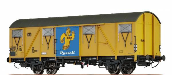 """BRAWA 47268 - Gedeckter Güterwagen, Bauart Gbs 245 """"Ültje"""" der DB"""