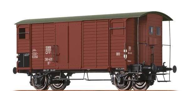 BRAWA 67851 - Gedeckter Güterwagen Bauart K2 der SBB