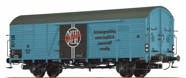 """BRAWA 48733 - Gedeckter Güterwagen Bauart Gltr 23 """"Eicher"""" der DB"""
