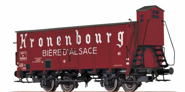"""BRAWA 67456 - Bierwagen Bauart Hlf """"Kronenbourg"""" der SNCF"""