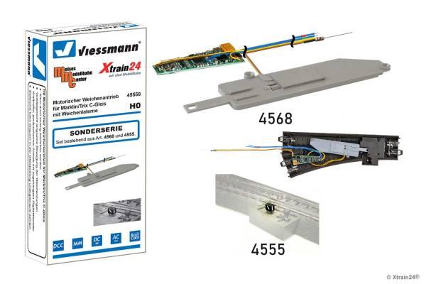 Viessmann - Motorischer Weichenantrieb für Märklin/Trix C-Gleis - ersetzt 4558