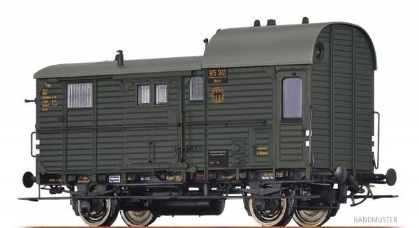 BRAWA 49401 - Güterzuggepäckwagen Bauart Pwg pr14 der DRG
