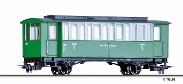 Schmalspur Personenwagen der NKB. TILLIG 03914