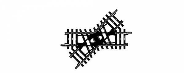 K-Gleis Kreuzung 45°. Märklin 2258