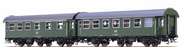 BRAWA 46310 - Personenwagen-Doppeleinheit Bauart AB3yge und B3yge der DB