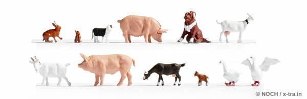 Tiere auf dem Bauernhof. NOCH 36711