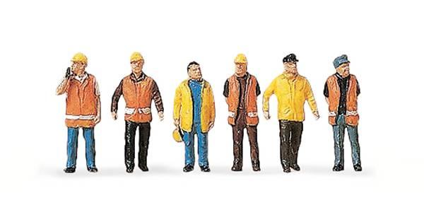 Preiser 79154 - Arbeiter in Sicherheitskleidung