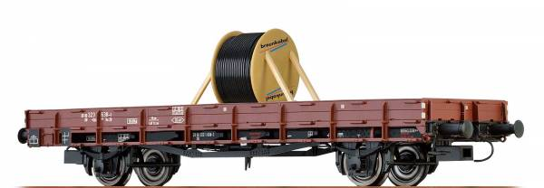 BRAWA 48626 - Offener Güterwagen Bauart E-52 Omm der DB