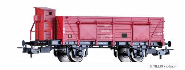 TILLIG 76730. Offener Güterwagen Kzn der GySEV