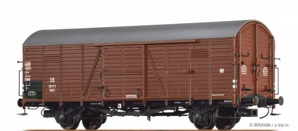 BRAWA 48729 - Gedeckter Güterwagen Bauart Glt 23 der DB