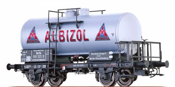 "BRAWA 49225 - Kesselwagen Bauart Z [P] ""Albizol/Monopolin"" der DRG"