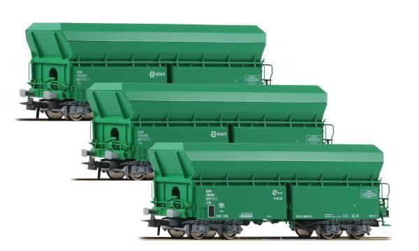 Roco 67080 - Set Selbstenladewagen Bauart Falns der RENFE