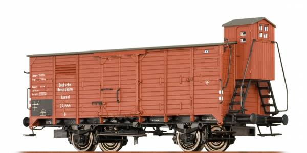 BRAWA 67454 - Gedeckter Güterwagen Bauart G der DRG
