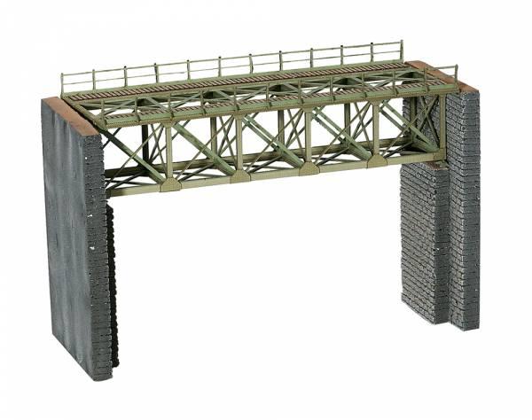 Laser-Cut Bausatz Stahlbrücke. NOCH 62810