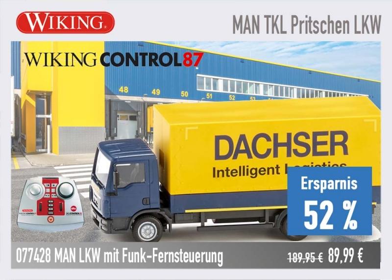 Wiking 077428 MAN LKW Funk-Fernsteuerung