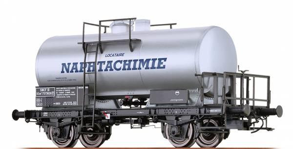 """BRAWA 49217 - Kesselwagen Bauart SCwf """"Locataire Naphtachimie"""" der SNCF"""