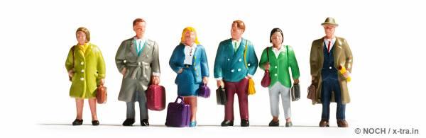 Reisende Set mit 6 Figuren. NOCH 45220