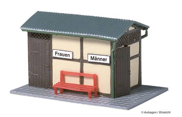 ᐅ Auhagen 11336 - Bahnhofstoilette, Bausatz