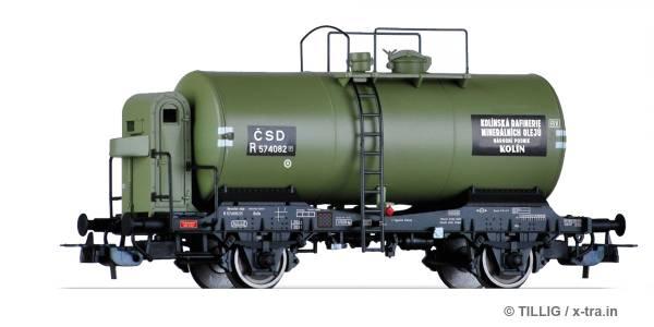 """TILLIG 76742. Kesselwagen R """"Kolínská rafinerie minerálních olejů"""""""