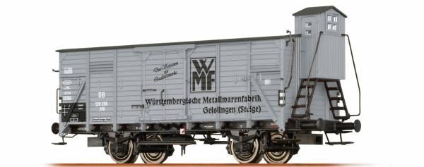 """Gedeckter Güterwagen G10 """"WMF"""" der DB, Ep. III. BRAWA 49741"""