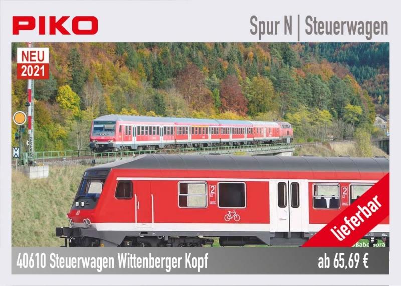 PIKO 40610 Steuerwagen Wittenberger Kopf