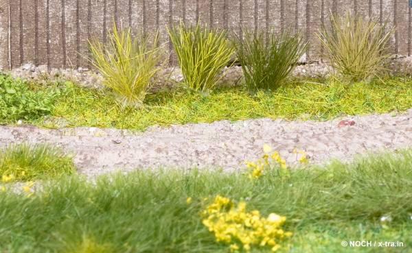 Grasbüschel Mini-Set XL grün. NOCH 07022