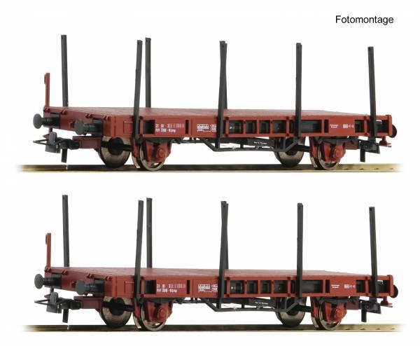 Roco 67085 - Set Rungenwagen Bauart Kbmp, der ÖBB