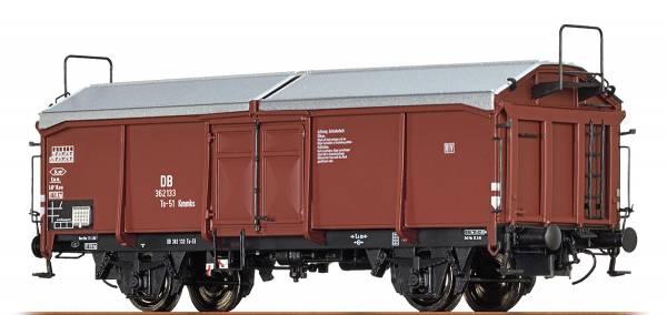 BRAWA 48627 - Offener Güterwagen Bauart Ts-51 Kmmks der DB