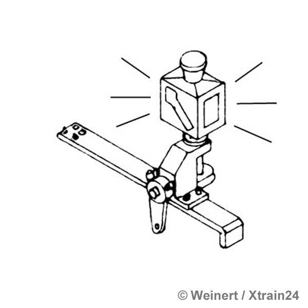 WEINERT 72381 - Weichenlaterne beleuchtet mit LED