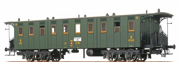 BRAWA - Personenwagen Bauart C4 der SBB